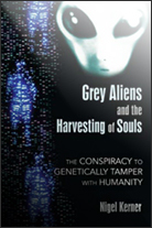 Image of book cover 'Grey Aliens and the Harvesting of Souls
