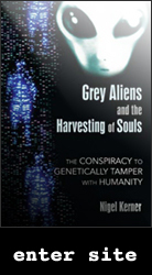 Grey Aliens and the Harvesting of Souls - Book Cover