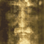 Image of an Alien Grey depicted as a religious icon